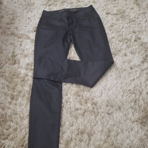 The Limited Pleather Denim Jeans